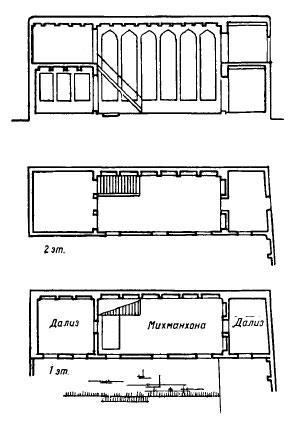 Дом с шахнишином в Карши