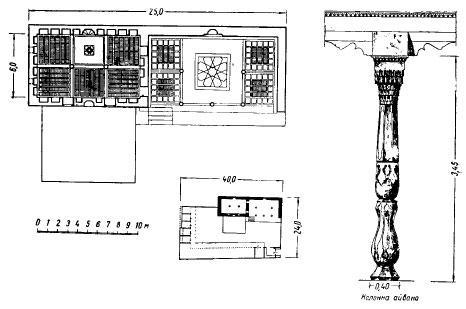 Мечеть 1-я Чинарлик в Коканде. 1850 год.