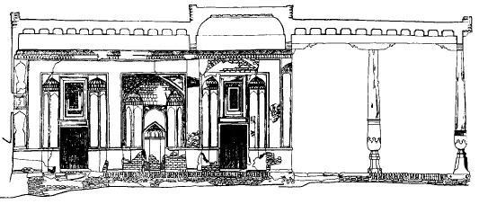 Мечеть Кош-Хауз в Самарканде