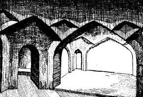 Интерьер бани в Карши